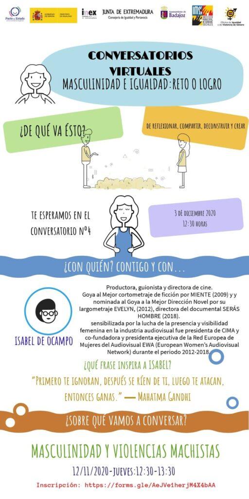 Cartel Isabel de Ocampo
